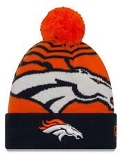 "Denver Broncos New Era NFL ""Logo Whiz 2"" Cuffed Knit Hat with Po"