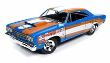 PLYMOUTH ROAD RUNNER 1969 DON GROTHEER AUTOWORLD 1/18 AWD220 DIE CAST METAL