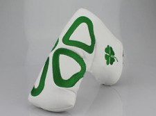 Lucky Clover Blade Putter Cover Headcover For Scotty Cameron Taylormade Odyssey