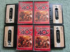 Remembering The 40s Various Reader's Digest Audio Tape 4x  Cassette Album SET