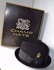 Vintage Champ 6 7/8 Felt Men's  Hat In Box