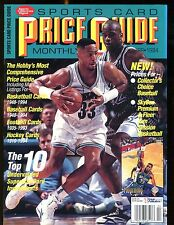 SCD Sports Card Price Guide April 1994 Alonzo Mourning jhscd