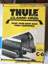 thule (Sweden) clamp-ons old school C-6 in box (4 pair) Ta over Tb never mounted