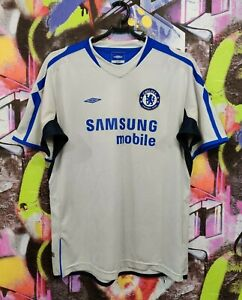 CHELSEA London Football Shirt Soccer Jersey Top Vintage Umbro Youth XL / Mens S
