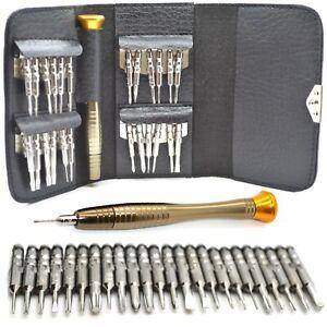 25 in 1 Mobile Phone Repair Tool Kit Screwdriver Set For iPhone 5S SE 6 7 8 iPad