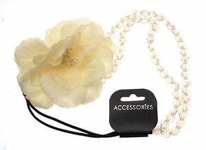 Flower Headband Hair Accessories Bead Floral Design