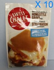 Swiss Chalet Homestyle Gravy Mix 10 Packs 51g each 25% Less Sodium From Canada