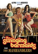 SWINGING BARMAIDS / THE MANHANDLERS EXPLOITATION DOUBLE FEATURE