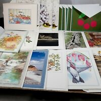 Blank note cards lot 20 floral bird greeting assorted