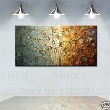1pc MODERN ABSTRACT HUGE WALL ORNAMENTS CANVAS OIL PAINTING:tree (No Framed)