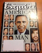 """ESQUIRE 80TH ANNIVERSARY """"MAN AT HIS BEST"""" COLLECTORS EDITION OCTOBER 2013"""