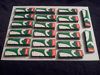 SWAN GREEN CIGARETTE PAPERS 20 Packets of X 50 Papers !! FREE DELIVERY !!