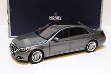 1:18 Norev Mercedes S-Klasse (V222) 2013 grey/silver NEW bei PREMIUM-MODELCARS