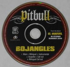 Pitbull - Bojangles x6 - original U.S. promo cd