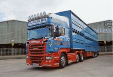 Truck Photos MacTaggart Livestock Scania choice of 6X4 or A4 size?