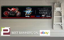 MV Agusta Dragster Reparto Corse logo Banner for Workshop, Garage, Pit Lane,