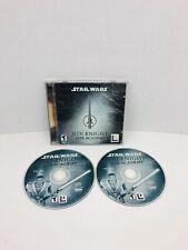 STAR WARS: JEDI KNIGHT - JEDI ACADEMY 2-DISC PC CD-ROM GAME FOR WIN 98/2K/XP