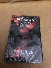 MICHAEL JACKSON  JANET JACKSON SCREAM FACTORY SEALED CASSETTE SINGLE 7