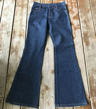 Vtg usa bell bottom flare disco 29x32 Big smith denim jeans men's pants rare