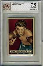 1951 Topps Ringside #4 Jimmy Flood BVG 7.5 NM+