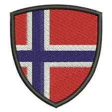 Landeswappen aus Norwegen und viele andere Aufnäher Patch Aufbügler Top Qualität