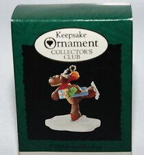 Vintage New Hallmark Keepsake Ornament Miniature Collector's Club Rodney 1995