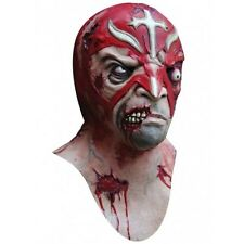 Full head and neck Latex Zombie Wrestler Mask Halloween Evil Rey Mysterio Style