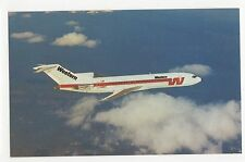 Western Airlines Boeing 727-247-A Aviation Postcard, A667