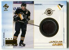 2000-01 Pacific Private Stock JAROMIR JAGR Game Gear Patch Rare SP #19/388