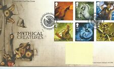 GB - FIRST DAY COVER - FDC - COMMEMS -2009-  MYTHICAL CREATURES - Pmk TH
