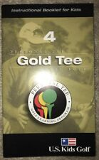 Us Kids Golf Instructional Booklet Gold Tee Level Four 4 Learning Program