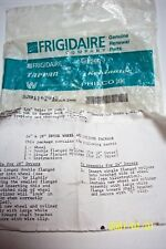 FRIGIDAIRE DRYER 5301167943 WHEEL & BEARING w/parts & instructions