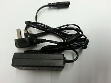 AC Adapter For AOC E2043FK-DT E2243FWK E2243FW LED LCD Monitor UK Power Supply