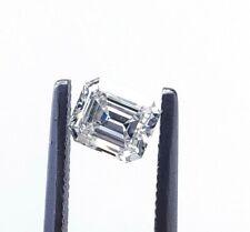 0.78 CT Natural Loose Diamond Emerald Cut L Color VS1 Clarity GIA Certified