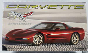 Vintage Corvette 50th Anniversary Limited Edition RC Car Red Radio Shack 60-4343