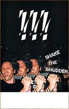 !!! CHK CHK CHK Shake The Shutter 2017 Ltd Ed RARE Poster +FREE EDM/Rock Poster!