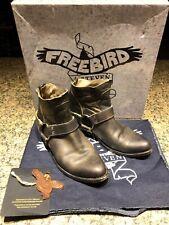 Freebird by Steven boots Santiago black size 8 booties original box free ship