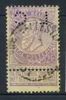 Belgio 1893 Mi. 59 Usato 100% Leopoldo II
