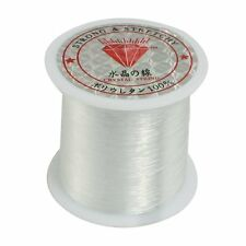 Clear Nylon Fishing Line Spool Beading String 0.4 mm Diameter Strong & Stretchy
