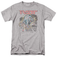 New Authentic Ratt Rock Band Rat Shocked adult T-shirt S M L X 2X 3X 4X 5X top