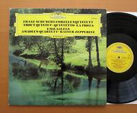 DG 2530 646 Schubert Trout Quintet Emil Gilels Amadeus Quartet 1976 NM/EX Stereo