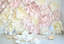 Wedding Flower Bouquet Photography Background Bride Marriage Backdrop Photo Prop