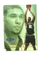 1997-98 Flair Showcase Row 3 #5 Tim Duncan Rookie Card  HOF 2020