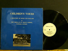 CHOIR OF ST. MARY'S SCHOOL ELTHAM   Children's Voices  LP  Private Choral
