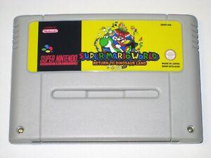 *PAL Version* SUPER MARIO WORLD RETURN TO DINOSAUR LAND For Super Nintendo SNES