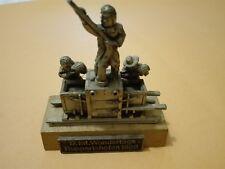 Vintage 17int.German Wandertage figural metal souvenir from Ruppertshofen 1988