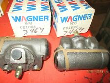 F51081-WC51081-WAGNER-LOT OF 2--MADE IN USA- Wheel Cylinder--BUICK-CADILLAC-GM