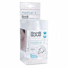 New Lovi Wideneck 150 ml clear plastic bottle with silicone teat for baby infant