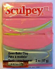 M00116 Morezmore Sculpey Iii Dusty Rose Pink 2 oz Polymer Clay A60