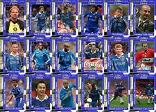 Chelsea FC 1998 Football League Cup final winners trading cards